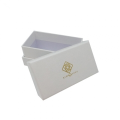 Custom Logo Gold Hot Stamping Packaging Paper Box
