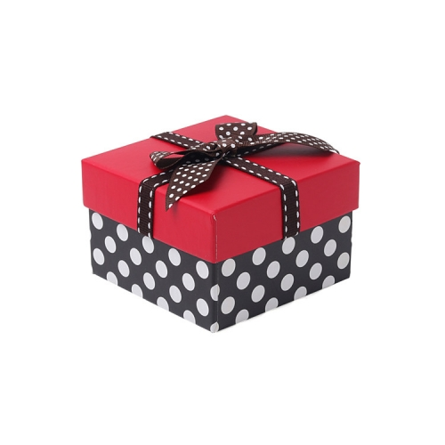 Hot Sale Beautiful Bow Gift Box, Square Gift Box