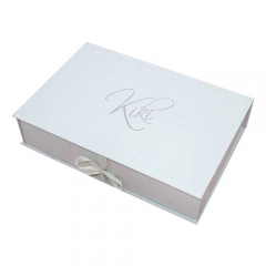 High Quality Gift Package Box, White Paper Box