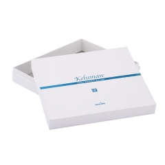 White Cardboard Cosmetic Box for Skin Care