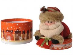 Christmas cylinder box, Exquisite gift box , Fashionable gift box