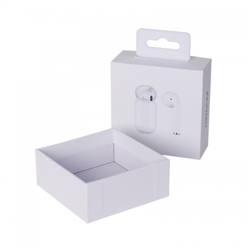 High Quality OEM Cardboard Earphone Box Electronic Product Packaging Gift Box