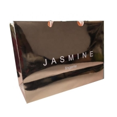 wholesale luxury Rose Gold wedding party gift shopping paper bag